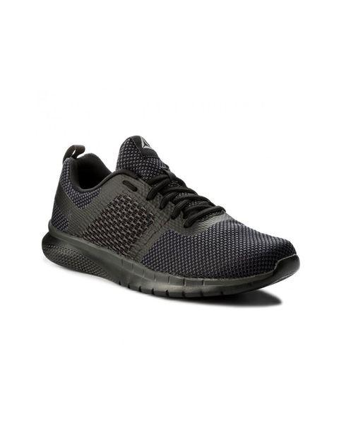 کفش دویدن بندی مردانه - ریباک - مشکي - 4