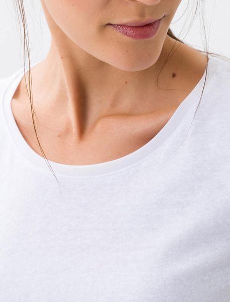 تی شرت یقه گرد زنانه CORA - سفيد - 6