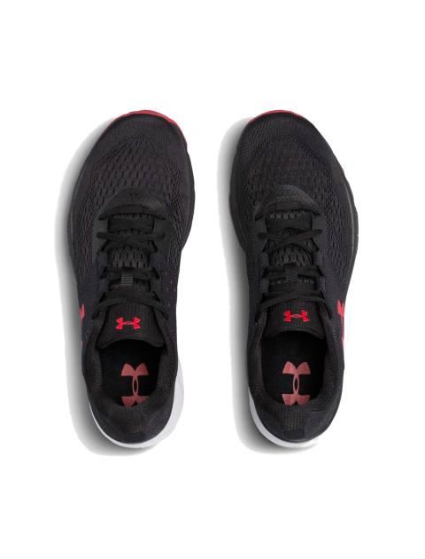 کفش دویدن بندی مردانه Charged Rebel - مشکي - 4