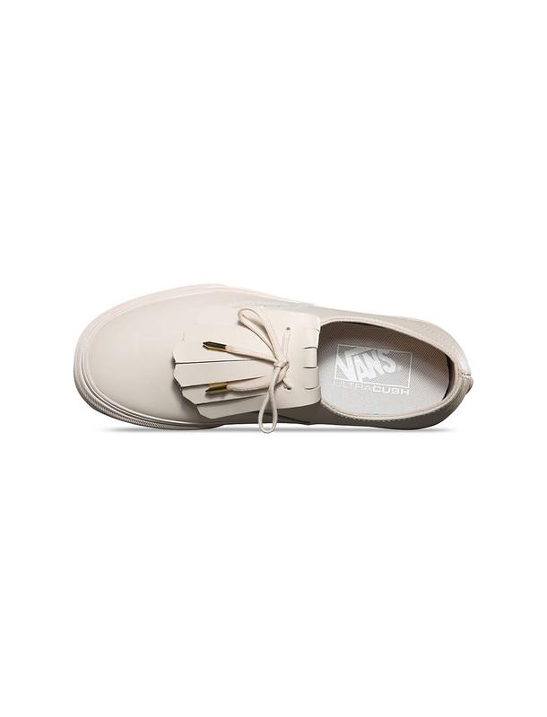 کفش تخت چرم زنانه Authentic Fringe