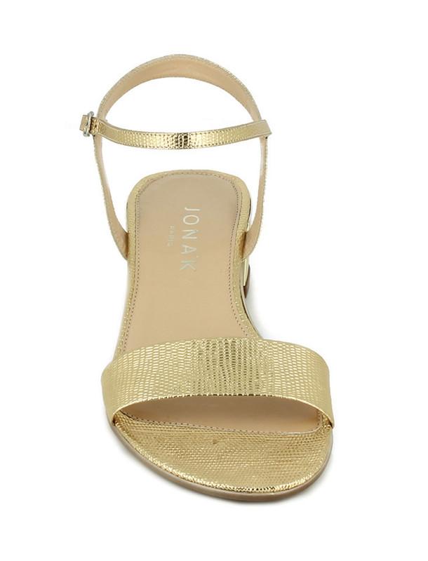 کفش چرم پاشنه دار زنانه - ژوناک