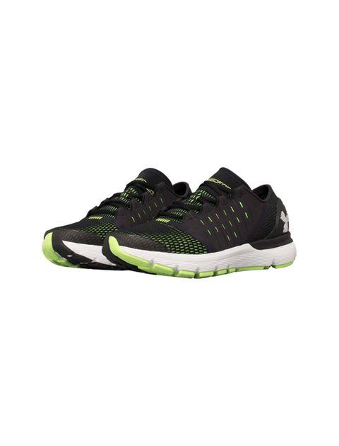 کفش دویدن بندی مردانه SpeedForm Europa - مشکي/سبز فسفري - 3