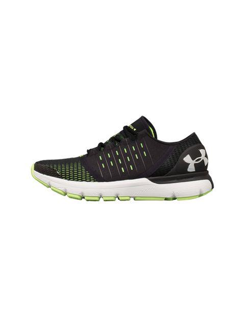 کفش دویدن بندی مردانه SpeedForm Europa - مشکي/سبز فسفري - 4