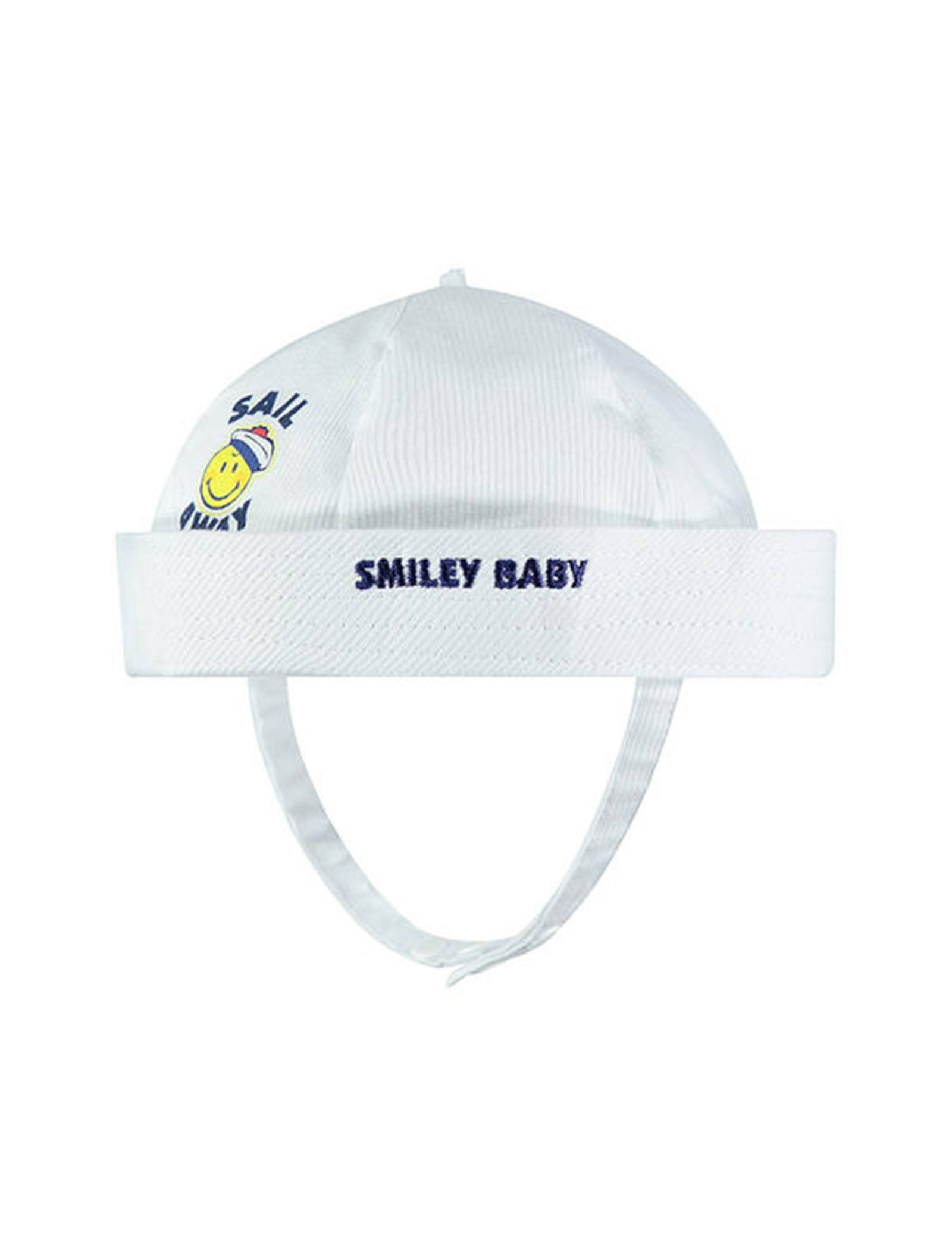 کلاه نخی نوزادی پسرانه - ارکسترا - سفيد - 1