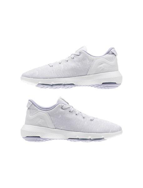 کفش پیاده روی بندی زنانه - سفيد - 3