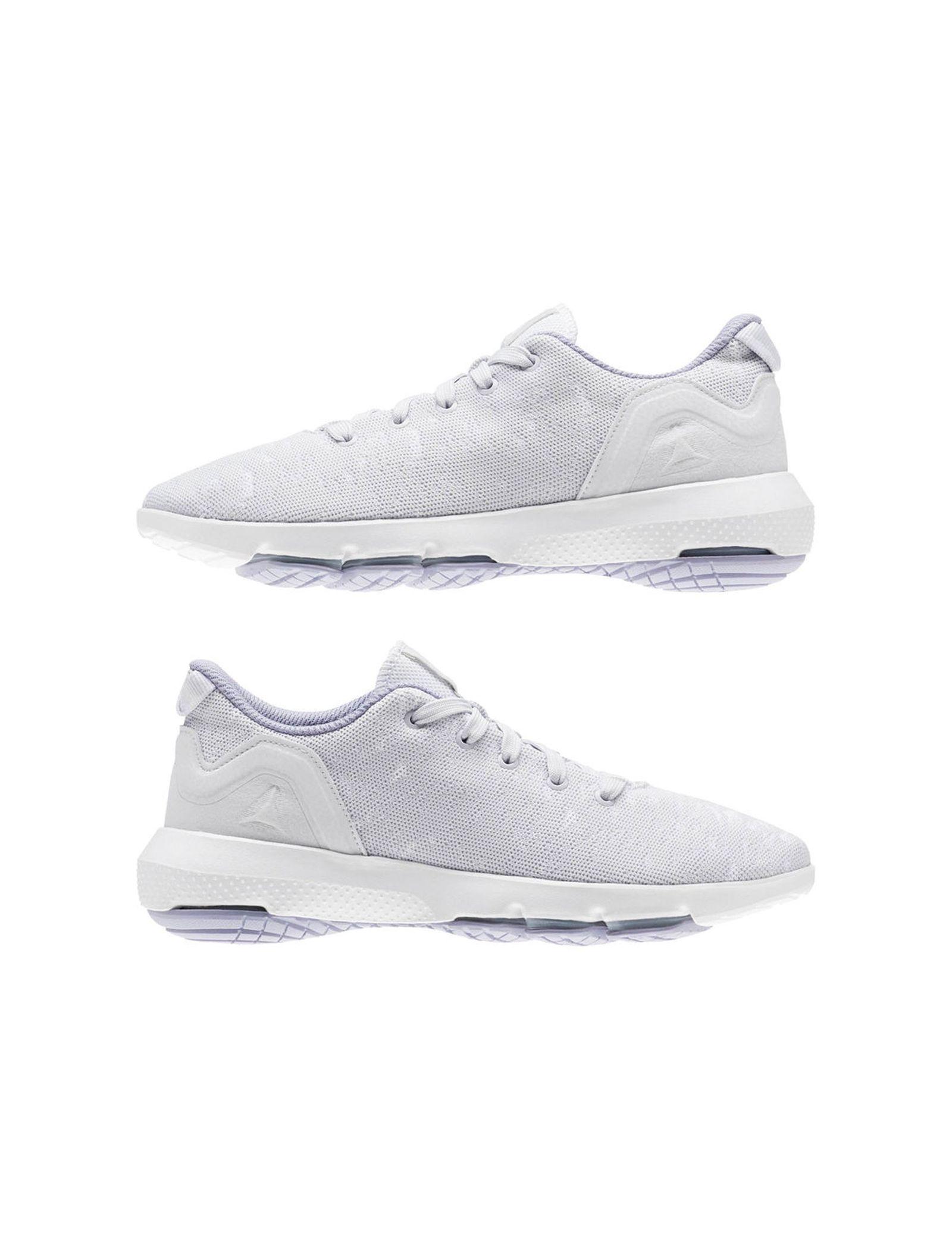 کفش پیاده روی بندی زنانه - ریباک - سفيد - 3