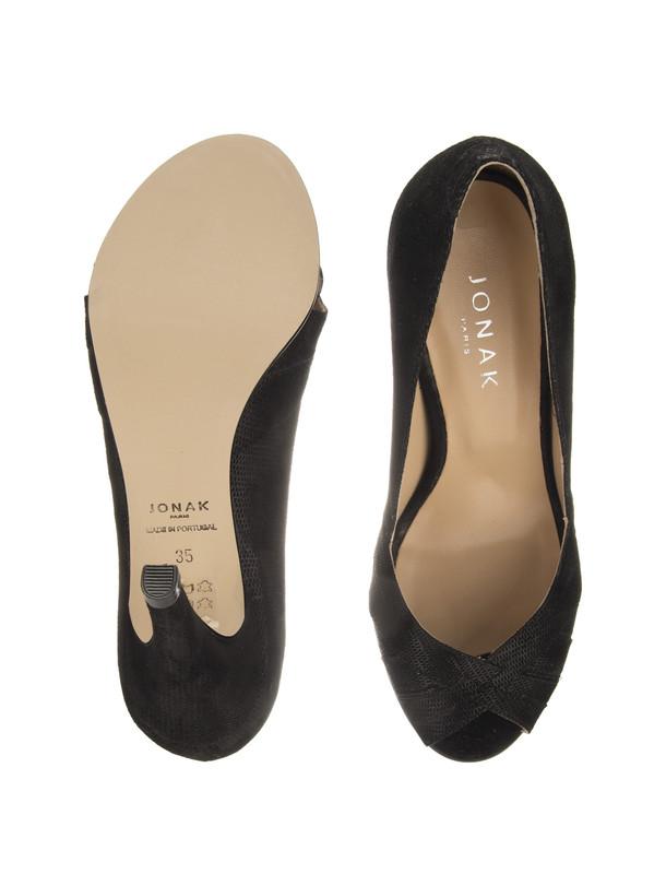 کفش پاشنه بلند نبوک زنانه - ژوناک