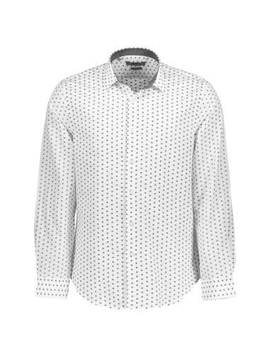 پیراهن نخی روزمره مردانه