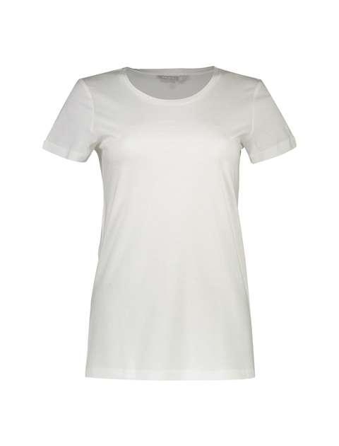 تی شرت نخی یقه گرد زنانه - رد هرینگ