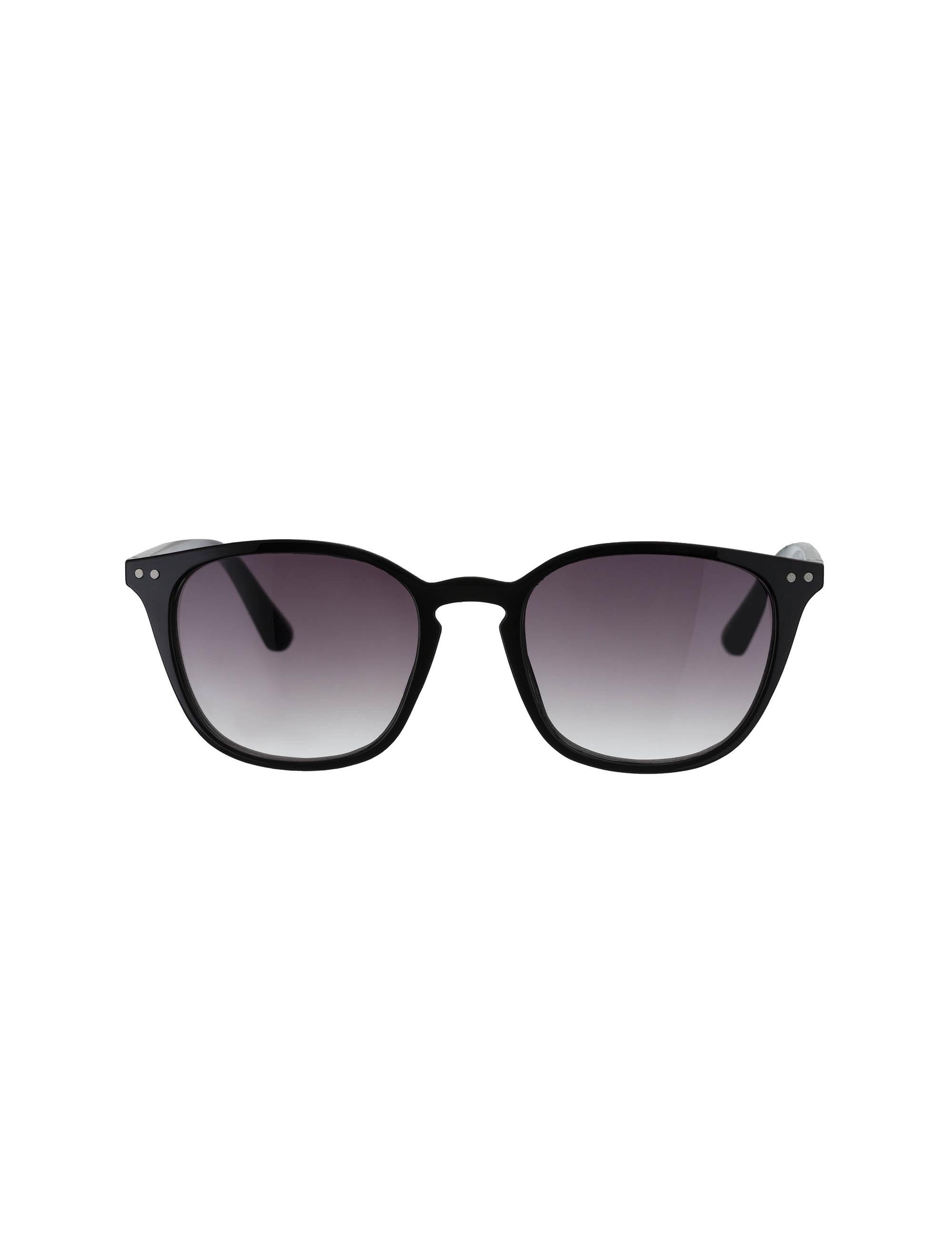 عینک آفتابی مربعی زنانه - مشکي - 1