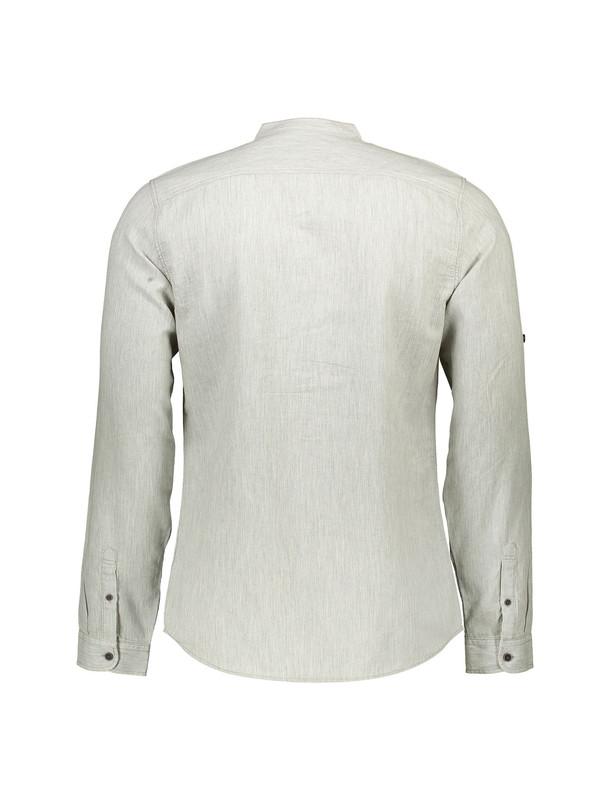 پیراهن نخی یقه گرد مردانه
