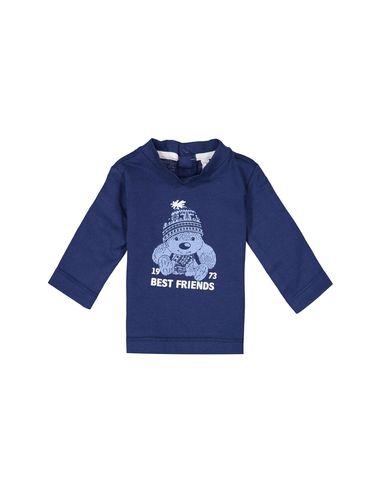 تی شرت نخی یقه گرد نوزادی پسرانه