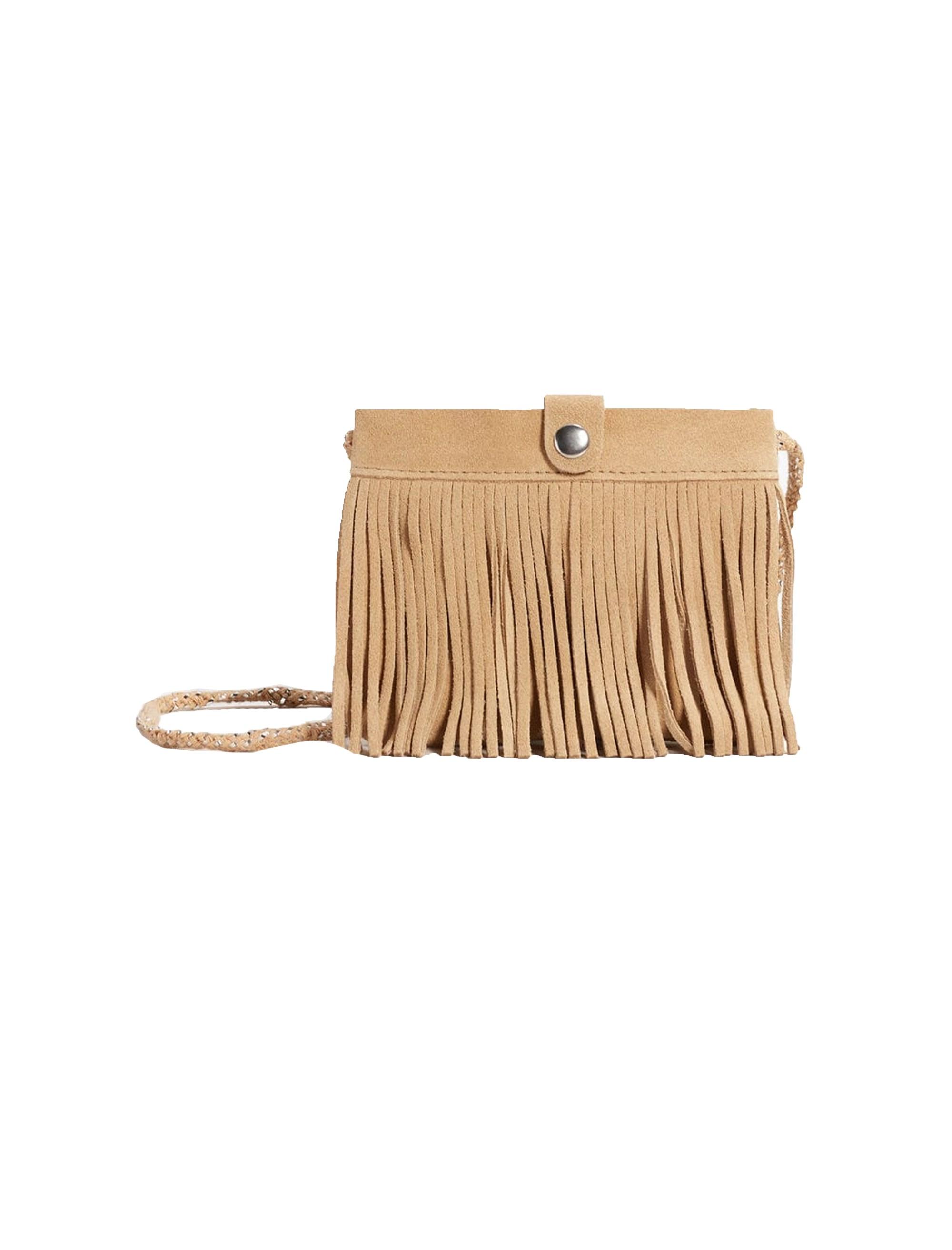 کیف دوشی چرم زنانه - مانگو