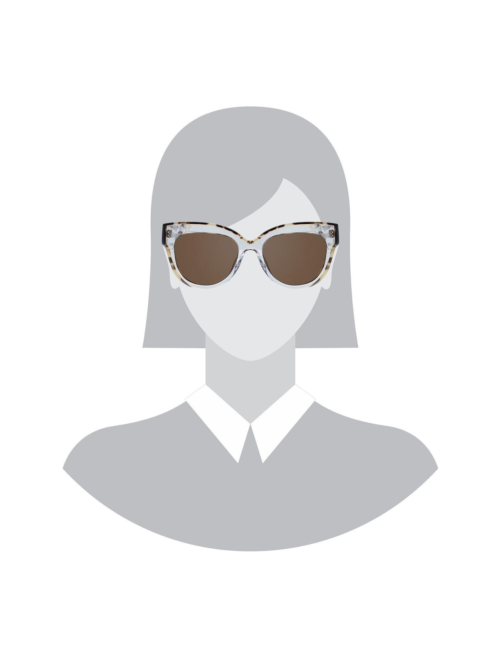 عینک آفتابی گربه ای زنانه - ساندرو - بي رنگ - 5