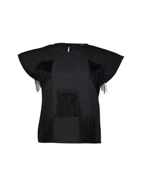 تی شرت نخی یقه گرد زنانه - دفکتو