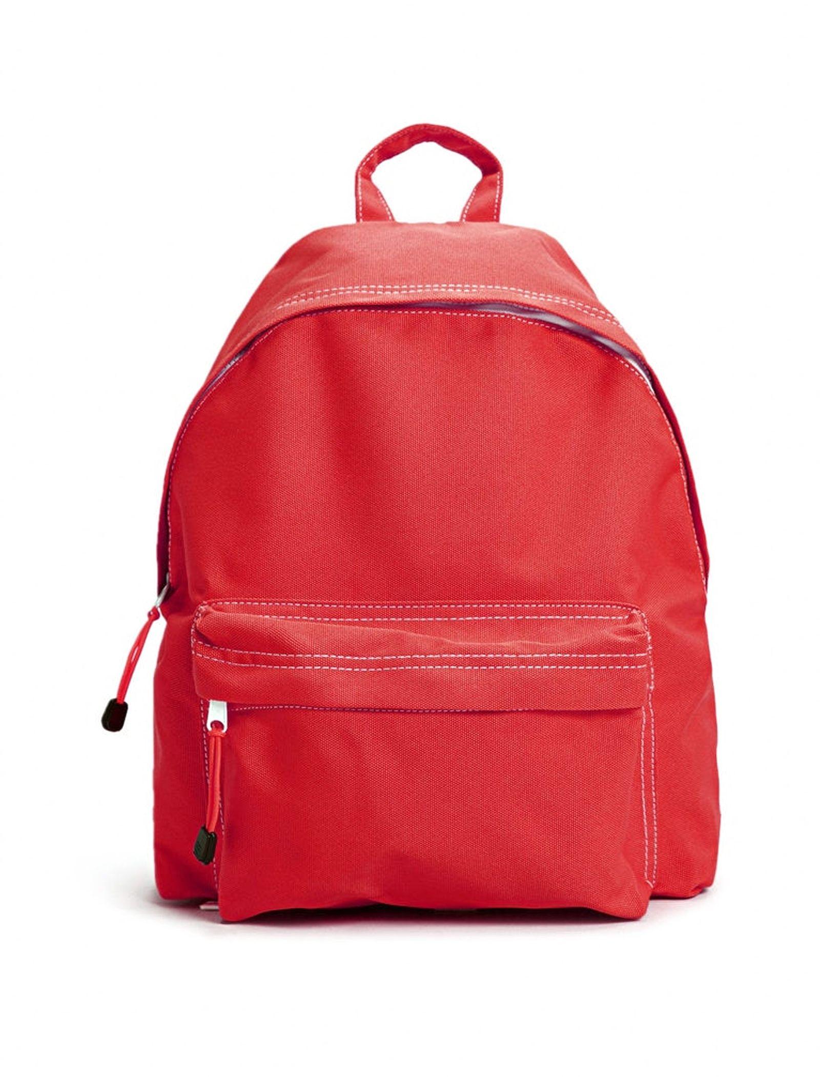 کوله پشتی روزمره مردانه - مانگو تک سایز - قرمز - 1