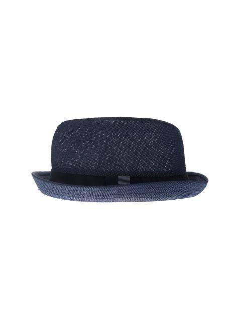 کلاه فدورا مردانه - آبي    - 2