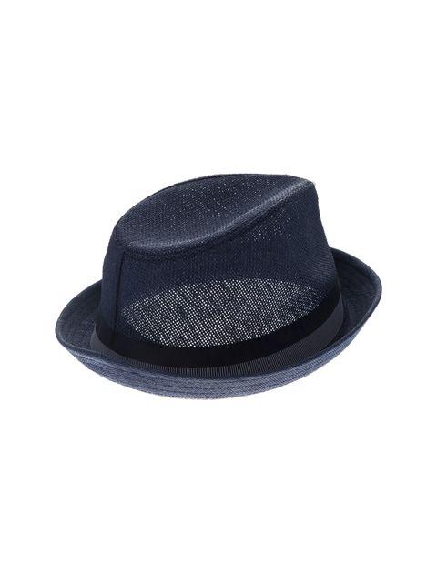کلاه فدورا مردانه - آبي    - 3