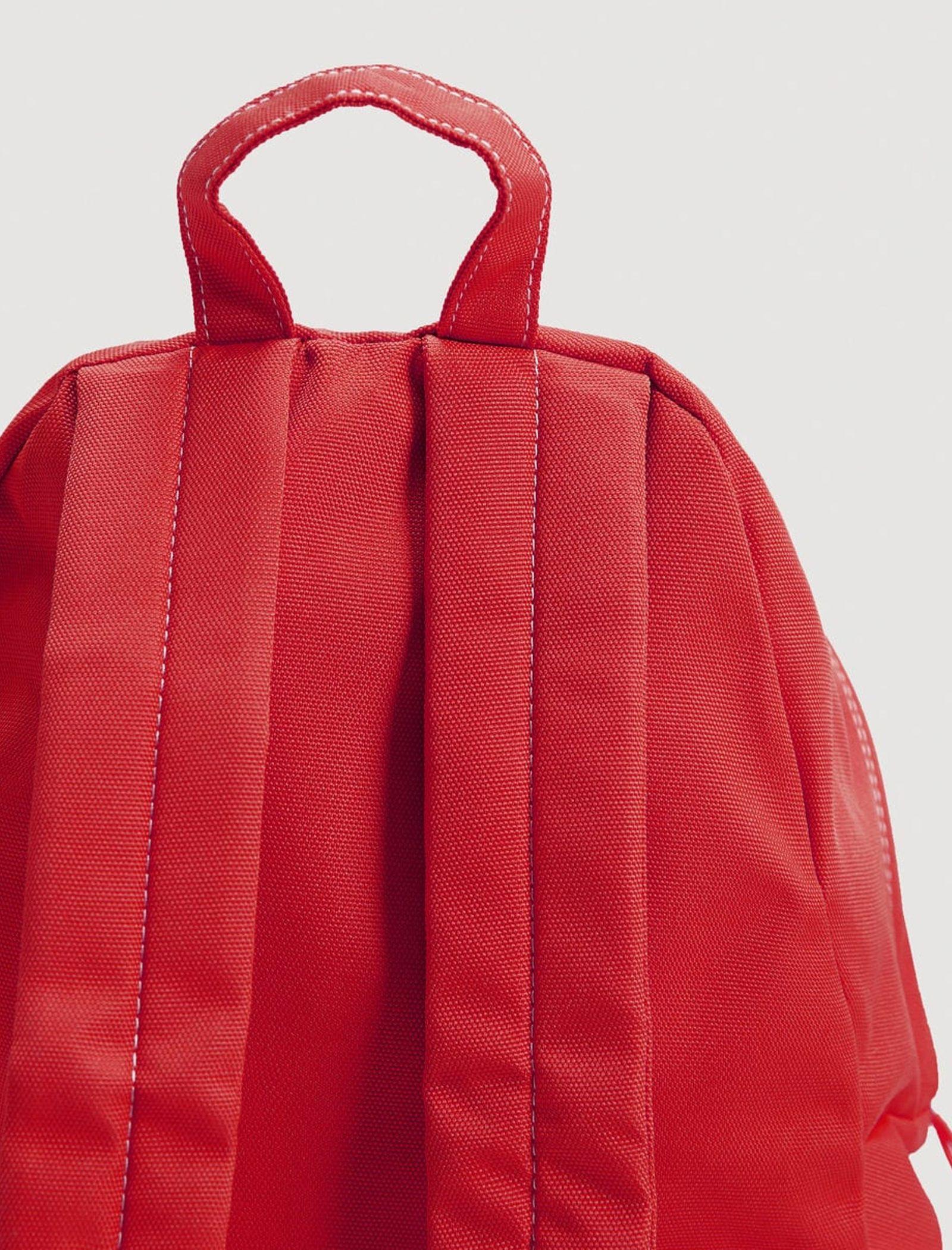 کوله پشتی روزمره مردانه - مانگو تک سایز - قرمز - 4