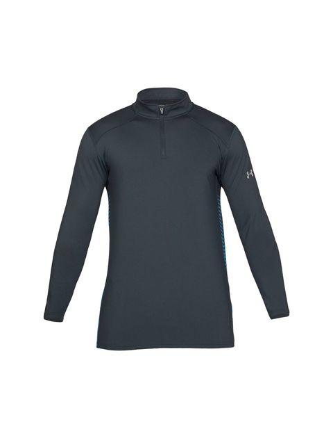 تی شرت ورزشی آستین بلند مردانه ColdGear Reactor Fitted - طوسي - 1