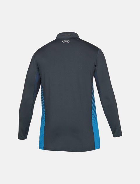 تی شرت ورزشی آستین بلند مردانه ColdGear Reactor Fitted - طوسي - 2