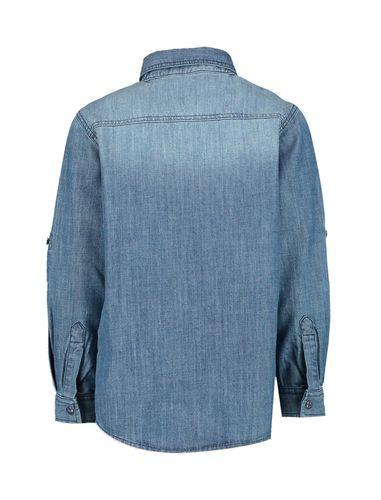 پیراهن جین آستین بلند پسرانه