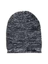 کلاه زمستانی بزرگسال - سرمه اي - 2