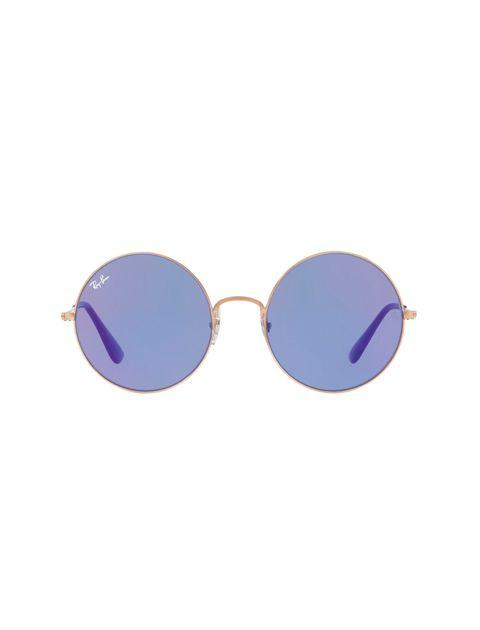 عینک آفتابی گرد زنانه - ری بن - مسي - 1