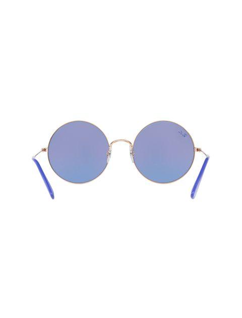 عینک آفتابی گرد زنانه - ری بن - مسي - 4