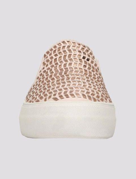 کفش لژ دار زنانه - صورتي - 2