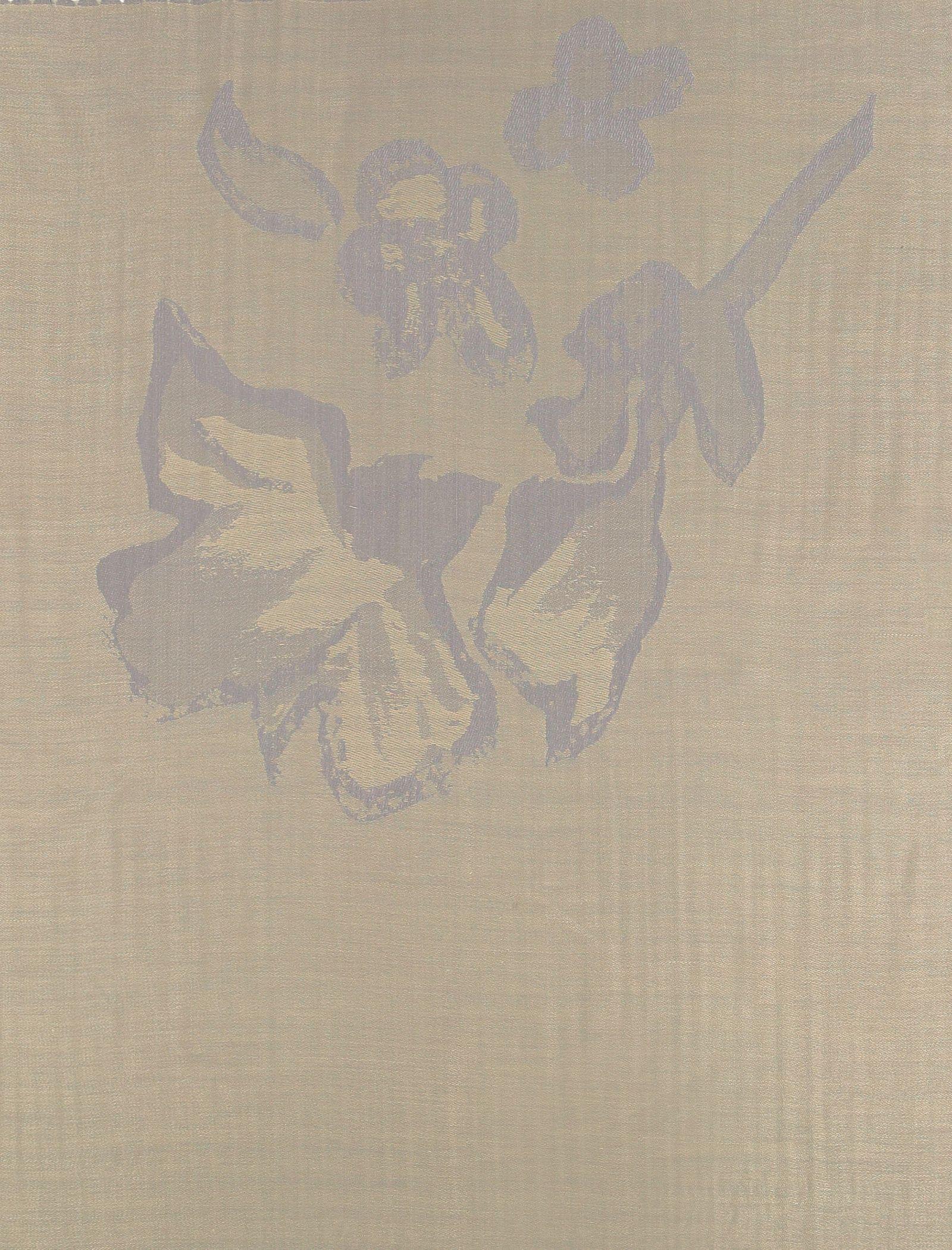 شال طرح دار زنانه - میس اسمارت - کرم  - 4