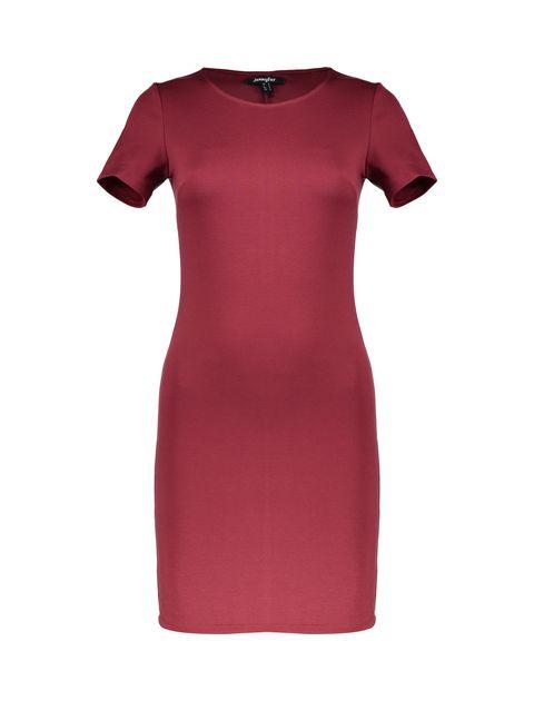 پیراهن کوتاه زنانه - جنیفر - قرمز - 1
