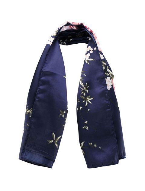 روسری طرح دار زنانه - آلدو - سرمه اي - 1