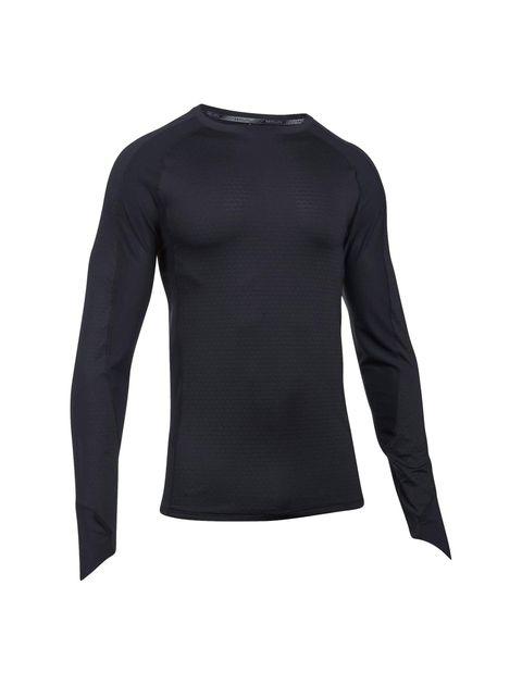 تی شرت ورزشی آستین بلند مردانه HexDelta - مشکي - 1