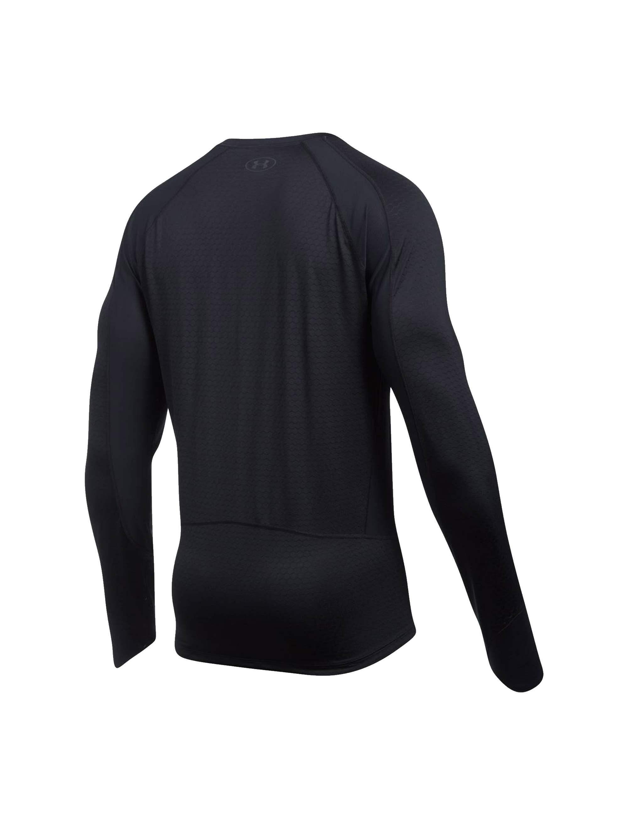تی شرت ورزشی آستین بلند مردانه HexDelta - مشکي - 2