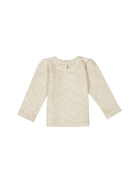تی شرت نخی نوزادی دخترانه - ایدکس - بژ - 3