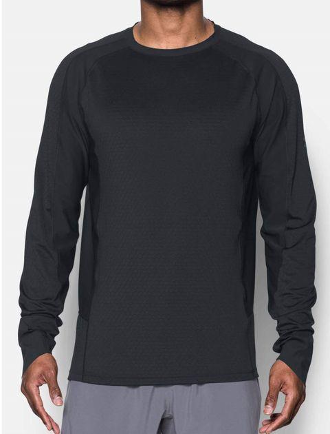 تی شرت ورزشی آستین بلند مردانه HexDelta - مشکي - 4
