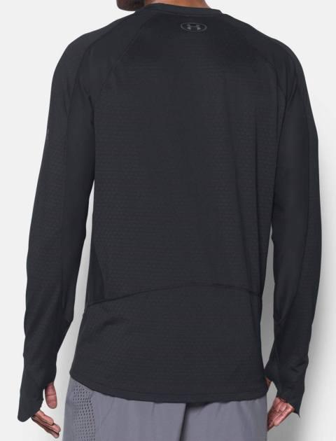 تی شرت ورزشی آستین بلند مردانه HexDelta - مشکي - 5