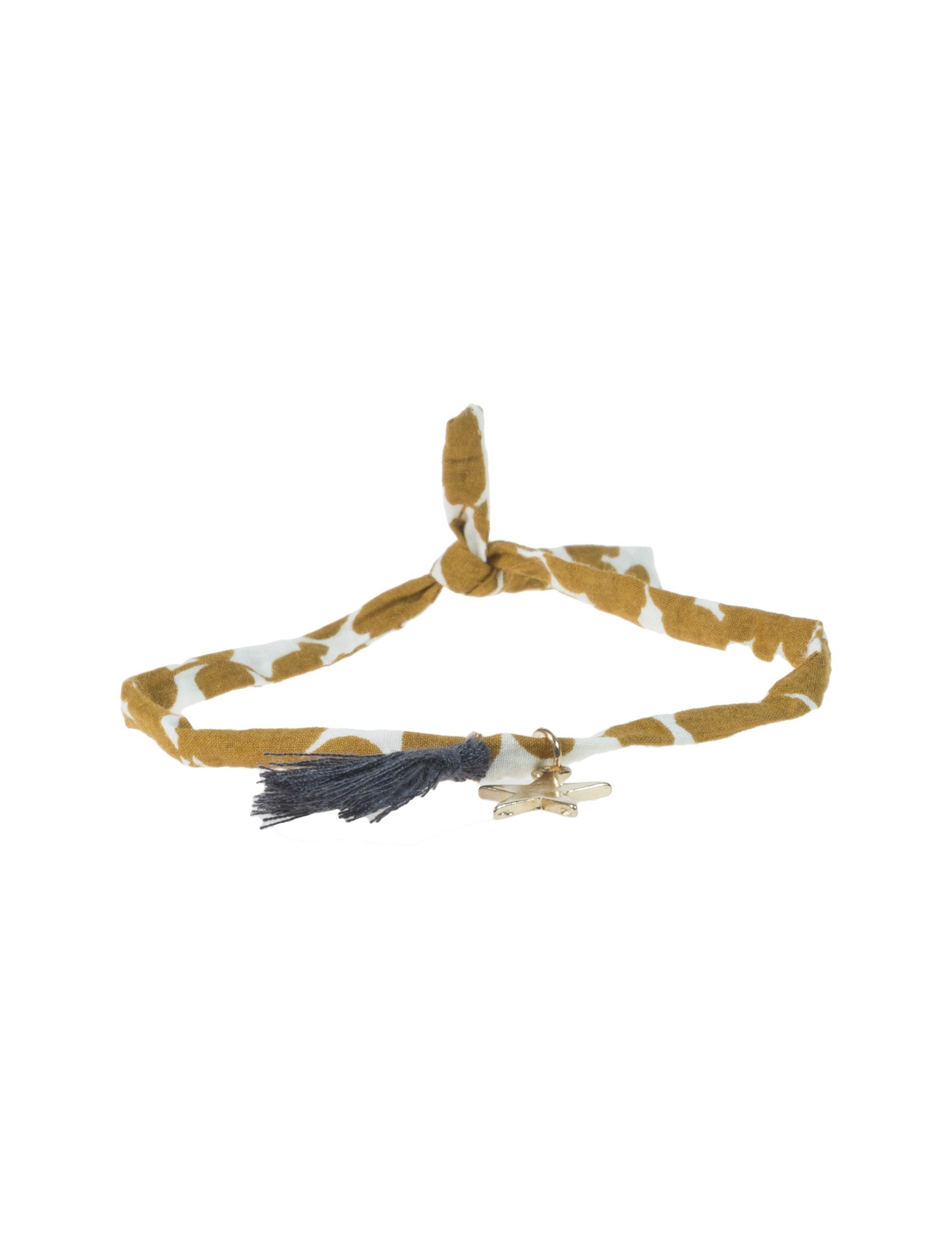دستبند پارچه ای دخترانه - مانگو