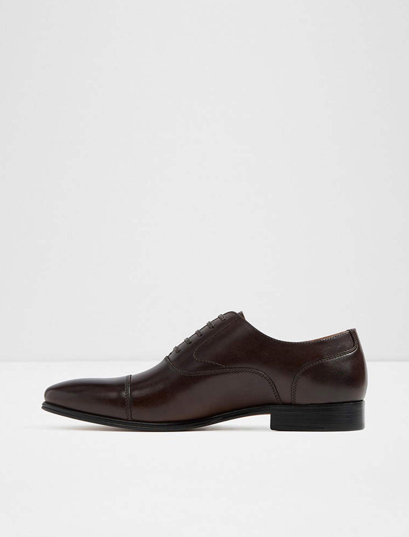 کفش رسمی چرم مردانه - آلدو - قهوه اي تيره - 2