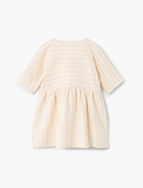 پیراهن نخی نوزادی دخترانه - مانگو