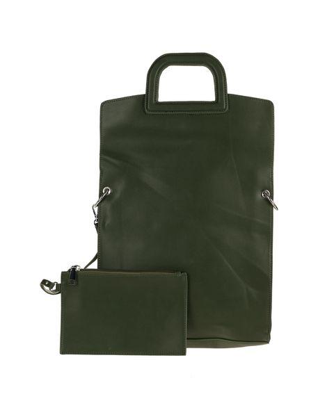 کیف دوشی روزمره زنانه - زيتوني - 1