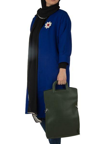 کیف دوشی روزمره زنانه - زيتوني - 2