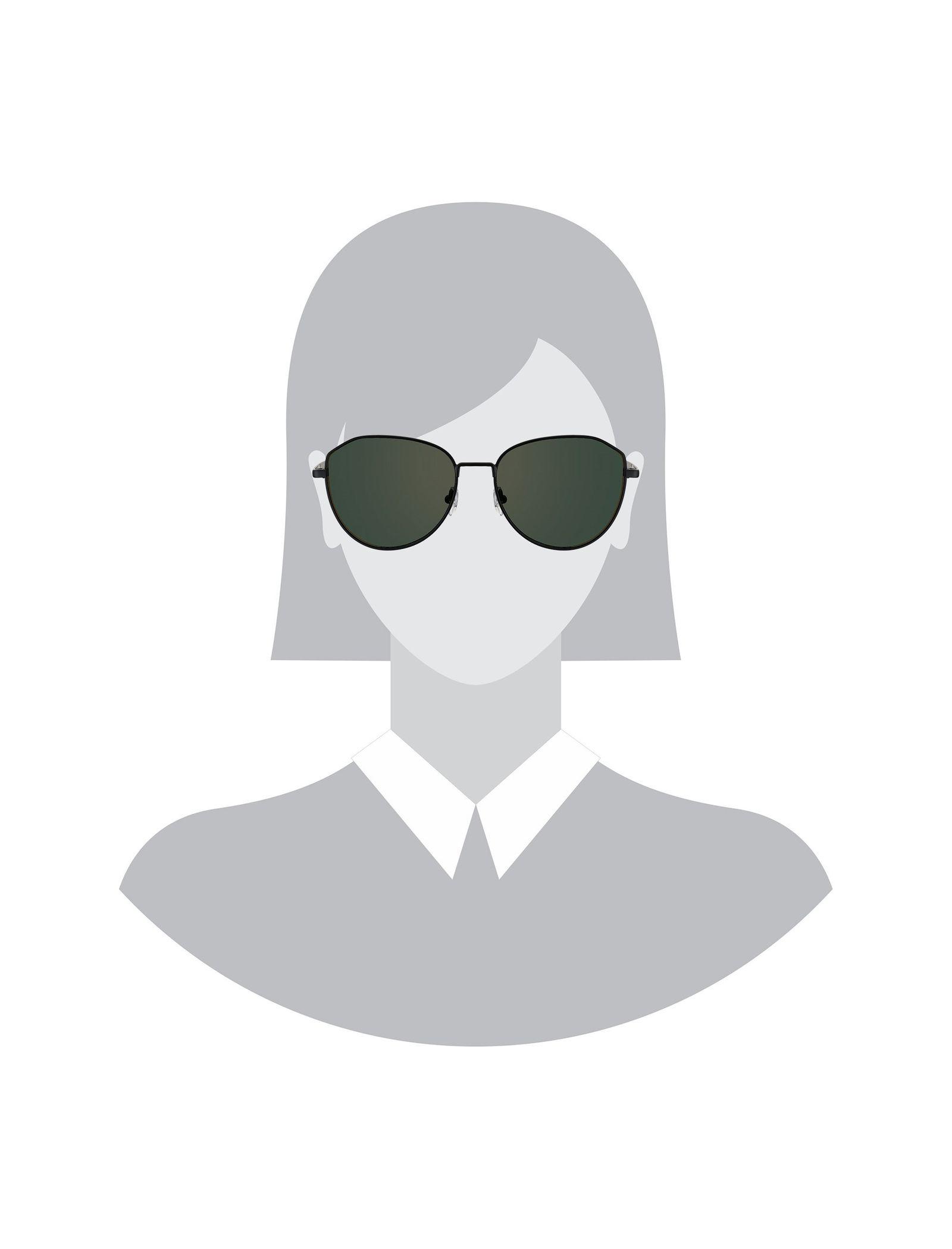 عینک آفتابی پروانه ای زنانه - پپه جینز - مشکي - 4