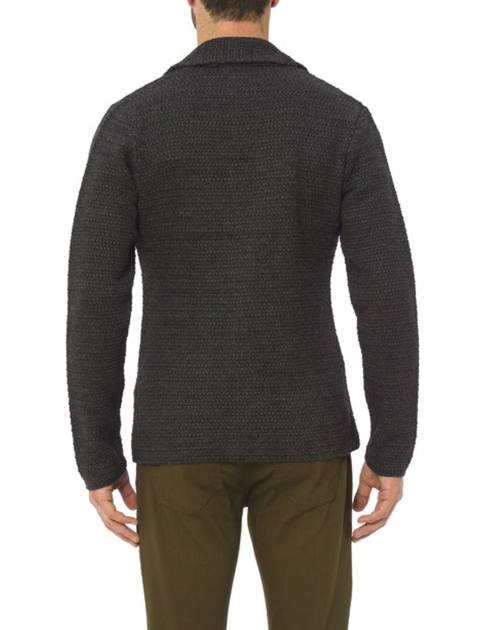 ژاکت دکمه دار مردانه - ال سی وایکیکی - زغالي - 2