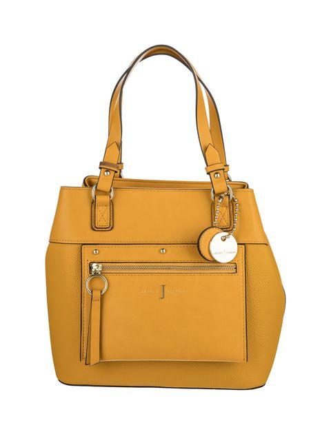 کیف دوشی روزمره زنانه - زرد - 1