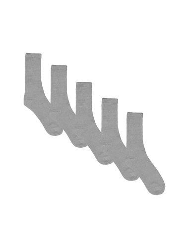 جوراب ساق متوسط مردانه بسته 5 عددی