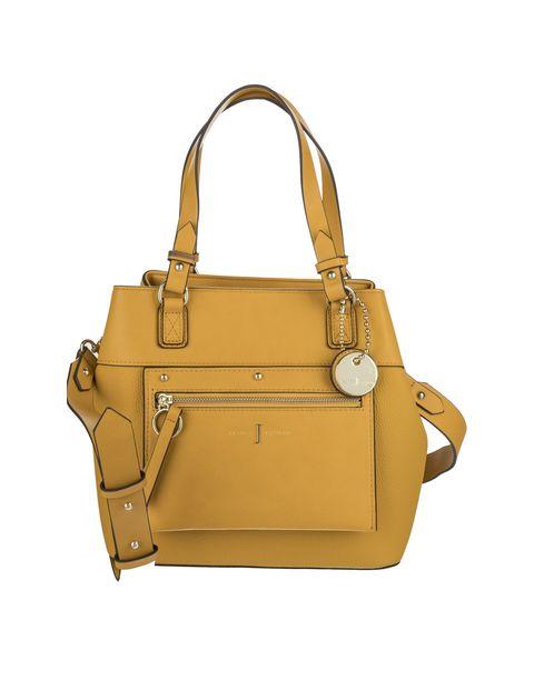کیف دوشی روزمره زنانه - زرد - 3