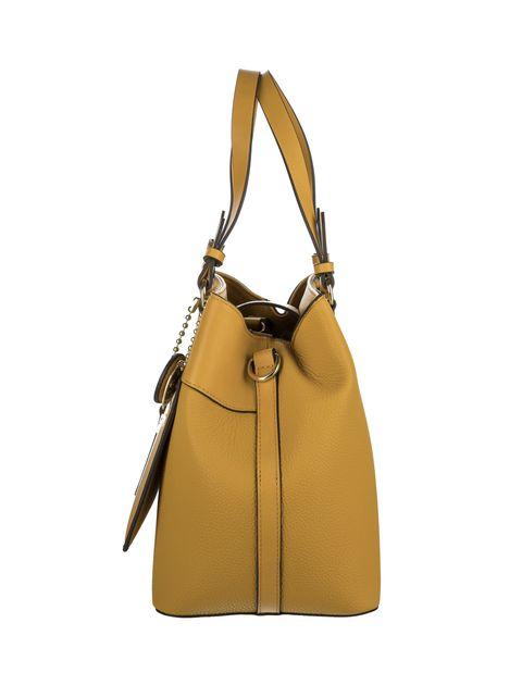 کیف دوشی روزمره زنانه - زرد - 5