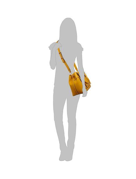 کیف دوشی روزمره زنانه - زرد - 7